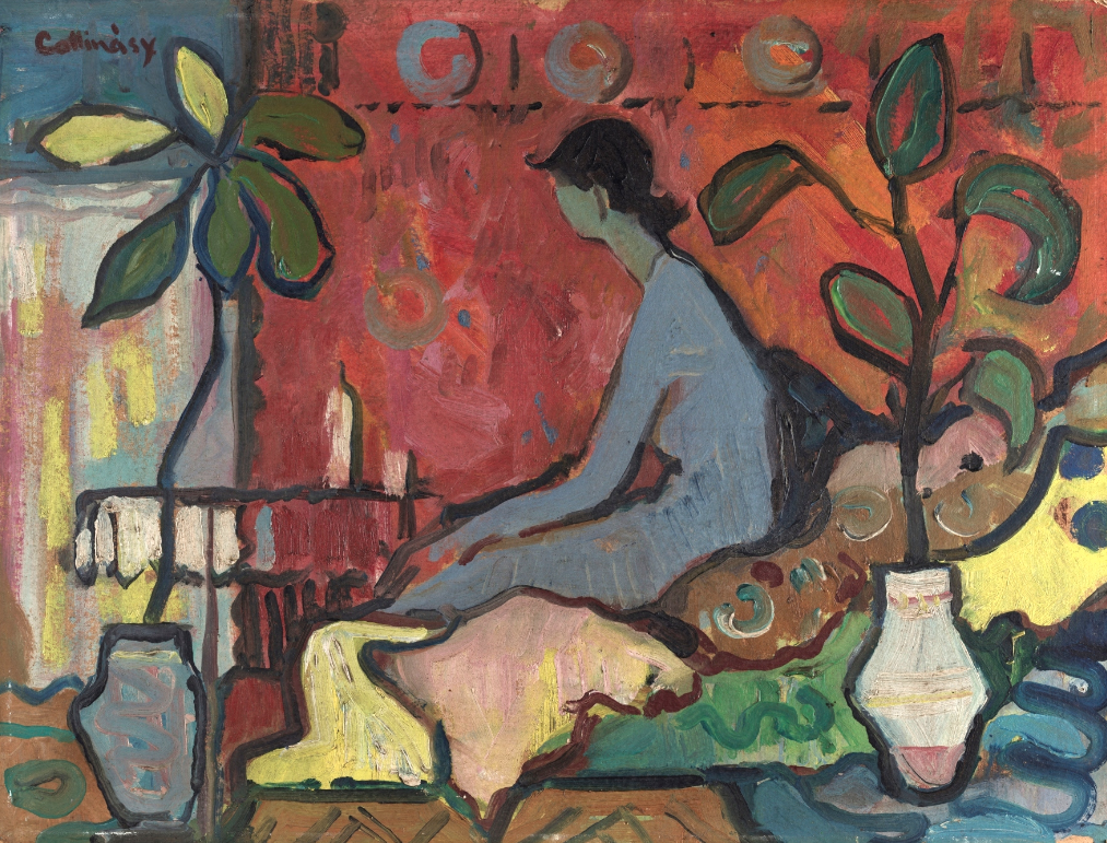 Woman in the interior- Juraj Collinásy 1959/1962
